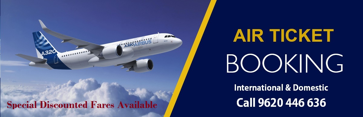 Air Ticket Booking  Bangalore